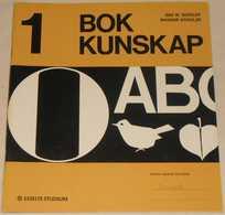 Bokkunskap - Häfte 1 Av Åke W. Edfeldt & Ragnar Schulze; Från 70-talet - Books, Magazines, Comics