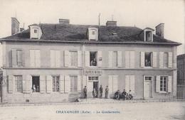 CHAVANGES (10) La Gendarmerie - Autres Communes
