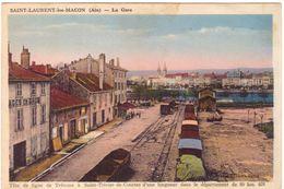 Saint Laurent Les Macon La Gare Tête De Ligne De Trévoux à Saint Triviers De Courtes D'un Longueur De .... - Autres Communes