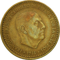 Monnaie, Espagne, Francisco Franco, Caudillo, Peseta, 1967, TB, Aluminum-Bronze - [ 5] 1949-… : Royaume