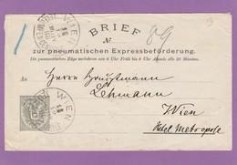 ROHRPOST-UMSCHLAG, 15 KRONEN. - Stamped Stationery