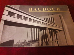 Beau Livret Centrale Electrique Baudour Saint Ghislain - Saint-Ghislain