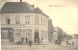 Linth = Lint1 Oude Postkaart , Verdeelde Rug , Roetaerstraat  Uitgever L. Timmermans - Prins Albert VAN CRAEN - TORFS - Lint