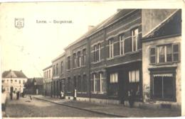 Linth = Lint 1 Oude Postkaart C1920, FOTOKAART  : Dorpstraat Met 2 Winkels +in De Klok Bij GEENS Vergane Glorie Vuil - Lint