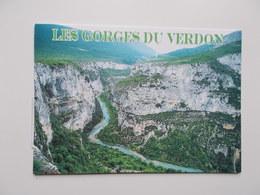 CP 04 - Les Gorges Du VERDON ,  - NO REPRO - Autres Communes