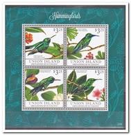 Union Island, Postfris MNH, Birds - St.-Vincent En De Grenadines