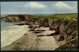 RB 1213 -  1960's Postcard - Traeth Llyfn Beach Near St Davids - Pembrokeshire Wales - Pembrokeshire