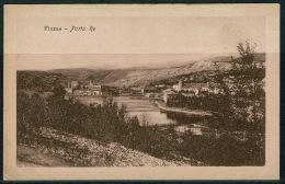 RB 1213 -  Early Postcard - Porto Re Fiume Rijeka - Croatia - Ex Italy - Croatia