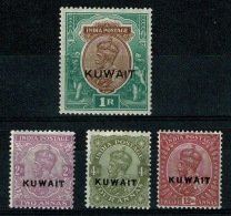 RB 1213 - Mint India Stamps Overprinted For Use In Kuwait Cat £64+ - Kuwait