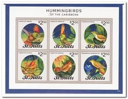 St. Kitts 2014, Postfris MNH, Birds - St.Kitts En Nevis ( 1983-...)