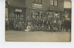 ALLEMAGNE - WESTERHOLT - Belle Carte Photo Prise Devant La Gare En 1923 ( Bahnhof ) - Germania