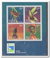 Mustique 2013, Postfris MNH, Birds - St.-Vincent En De Grenadines
