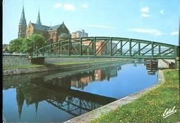59 - Dunkerque : Le Canal De Furnes Et L'Eglise Saint Martin - Dunkerque