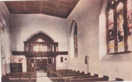 RODNEY STOKE - ST LEONARDS CHURCH INTERIOR - England