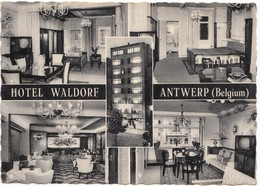 HOTEL WALDORF, ANTWERP, ANTWERPEN, Belgium, 1961 Used Real Photo Postcard [21647] - Antwerpen
