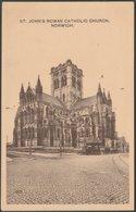 St John's Roman Catholic Church, Norwich, Norfolk, C.1910s - Jarrold Postcard - Norwich