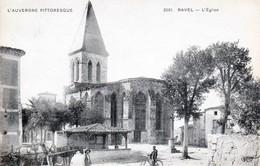 RAVEL - Canton De Lezoux - La Place De L'église - Très Beau Plan Animé - Lezoux