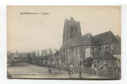 Arnèke (59, Nord) - L'Église - CPA - France