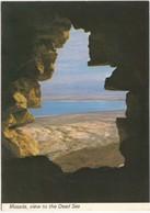 Israel, Masada, View To The Dead Sea, Unused Postcard [21649] - Israel
