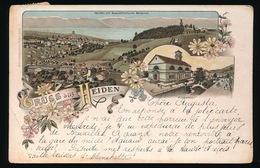 GRUSS  AUS HEIDEN  LITHOGRAPHIE  1901 = - AR Appenzell Ausserrhoden