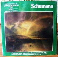 33 TOURS N° 29 VINYLE GRANDS MUSICIENS 1 LIVRE + 1 DISQUE 1990 NEUF SCHUMANN SOUS FILM D'ORIGINE - SITE Serbon63 - Classique