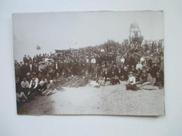 Original Großes Foto Um 1910 ?! Größe 29x20cm Strand / Ruderboote Auswanderer Nach Chile Und Brasilien. Gruppenfoto - Krieg, Militär