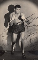 Boxeur .  A. Duque. Poids Lourd Bcc. Vainqueur à Lille 1950 - 1951. ( Photo ) - Boxing