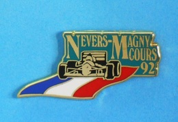1 PIN'S //   ** F1 / CIRCUIT NEVERS - MAGNY-COURS ** 92 ** . (Arthus Bertrand Paris) - F1