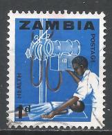 Zambia 1964. Scott #5 (U) X-Ray Technician * - Zambie (1965-...)