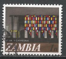 Zambia 1968. Scott #39 (U) Lusaka Cathedral * - Zambie (1965-...)
