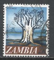 Zambia 1968. Scott #40 (U) Baobab Tree * - Zambie (1965-...)
