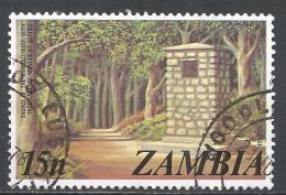 Zambia 1975. Scott #143 (U) Zambezi River Source, Monument * - Zambie (1965-...)