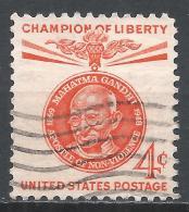 United States 1961. Scott #1174 (U) Mahatma Gandhi * - Etats-Unis