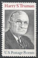 United States 1973. Scott #1499 (U) Harry S. Truman, President * - Etats-Unis