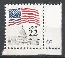 United States 1985. Scott #2114 (MNH) Flag Over Capitol Dome  * - Etats-Unis
