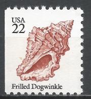 United States 1985. Scott #2117 (MNH) Frilled Dogwinkle, Sea Shell * - Etats-Unis