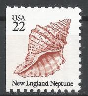 United States 1985. Scott #2119 (MNH) New England Neptune, Sea Shell * - Etats-Unis