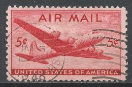 United States 1946. Scott #C32 (U) DC-4 Skymaster Plane * - Poste Aérienne