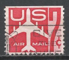 United States 1960. Scott #C60a (U) Silhouette Of Jet Airliner * - Poste Aérienne