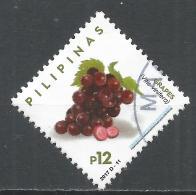 Philippines 2017. Scott #3654a (U) Grapes, Fruits * - Philippines