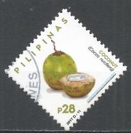 Philippines 2017. Scott #3716 (U) Coconuts, Fruits * - Philippines