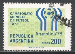 Argentina 1978. Scott #1179 (U) Soccer Games Emblem * - Argentine