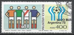 Argentina 1978. Scott #1191 (U) Team's Of Netherlands, Iran, Peru And Scotland * - Argentine