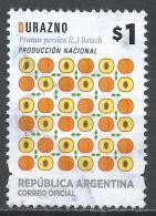 Argentina 2016. Scott #2786 (U) Fruit's Prunus Persica * - Oblitérés