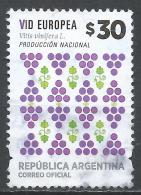 Argentina 2016. Scott #2791 (U) Fruit's Vitis Vinifera * - Oblitérés