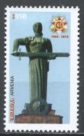 Armenia 2010. Scott #840 (MNH) Victory In World War II, 65th Anniv. * - Arménie