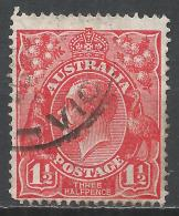 Australia 1924. Scott #26 (U) King George V * - 1913-36 George V : Têtes