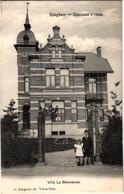 1 Oude Postkaart Edegem  Edeghem    Villa La Bienvenue    Drukker Bongartz Oude God - Edegem