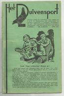Hove - Het Duivensport   *   4 Maanduitgaves , April, Mei, Juni, Juli 1946 ( Duivensport - Duiven - Duif - Pigeon) - Hove