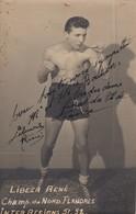 Boxeur . Libeer René.  Champion Du Nord. Flandres. 1951 - 1952 - Boxing